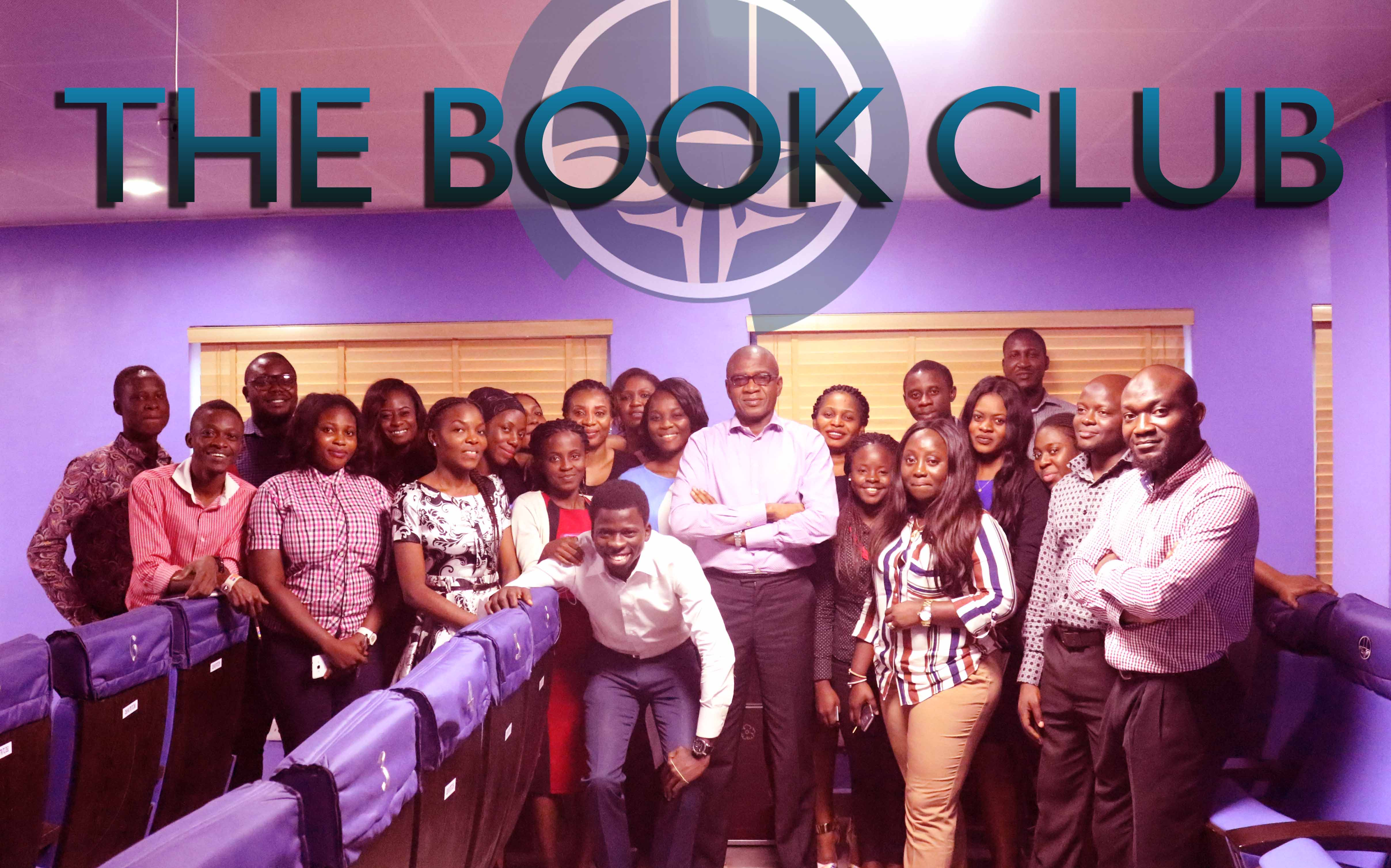 Members of the Exclusive Courteville Book Club and its Patron Mr Bola Akindele