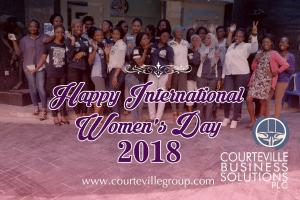 HAPPY INTERNATIONAL WOMEN'S DAY 2018.