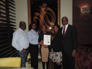 East Africa Business Network Certificate presentation , London - 2015