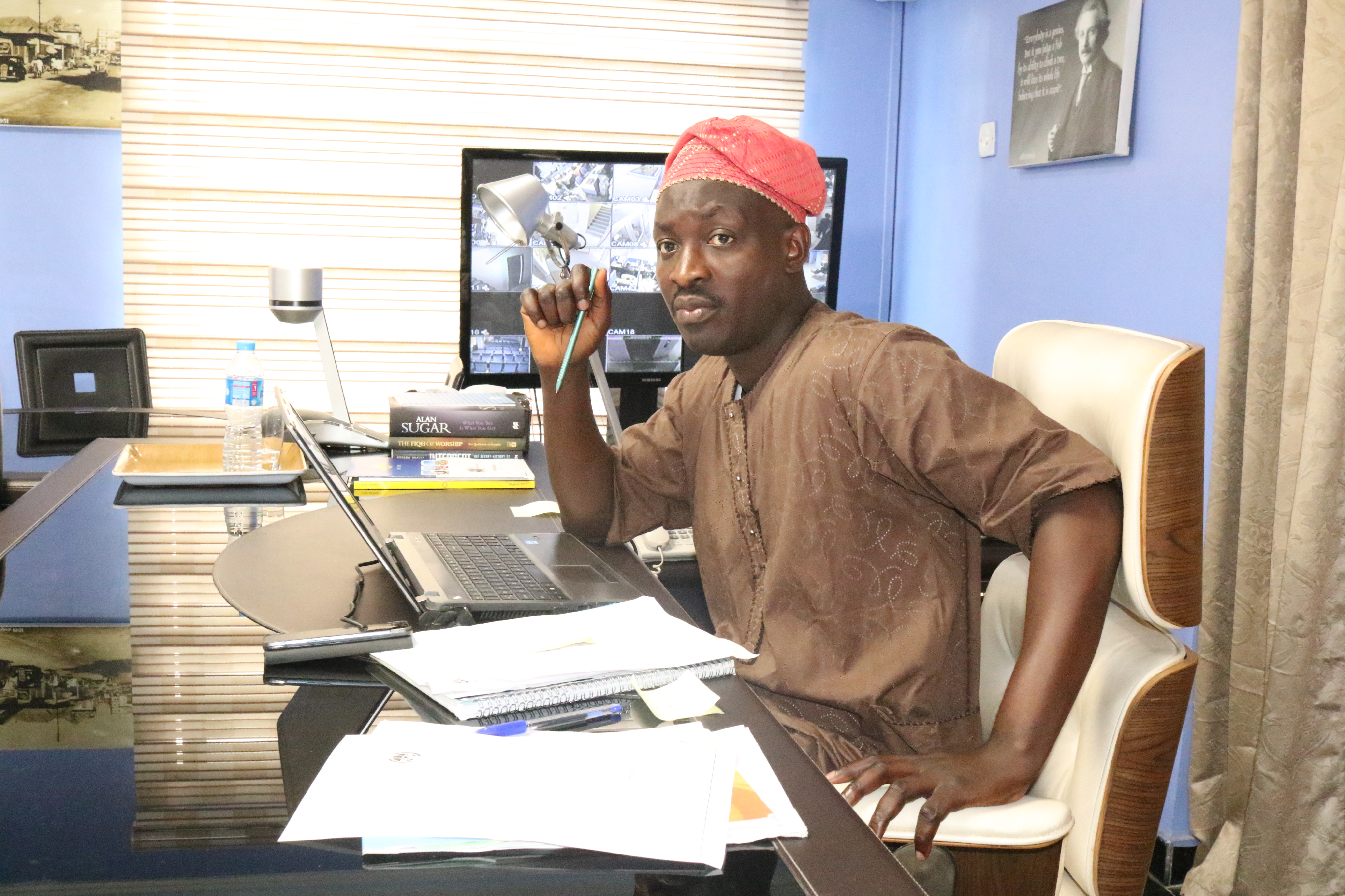 Femi Alaka crowning the MMTP as the final GMD for a day in October, 2015
