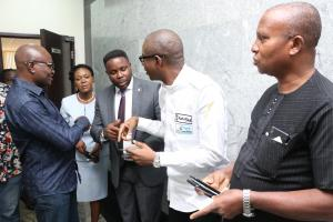 Executives' participation at  The Nigerian Insurers Association Launch of USSD code