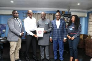 COURTESY VISIT FROM LAGOS STATE SECURITY TRUST FUND OFFICIALS