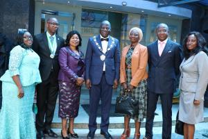 CBS HOSTS THE 54TH ICAN PRESIDENT ALHAJI RASAK JAIYEOLA AND PUBLIC LECTURE GIVEN BY THE GMD DR. ADEBOLA AKINDELE