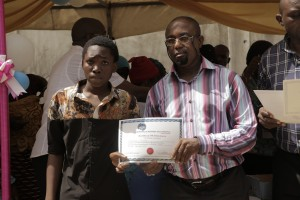 PRESENTATION OF CERTIFICATES