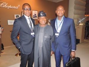 Africa CEOs Forum Held at Geneva, Switzerland - 2015