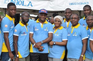 Lagos State Civil Service Week, 2014: Walk-for-fitness